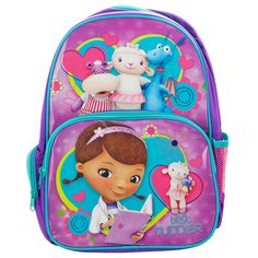 Doc McStuffins Backpack from Funstra Toys
