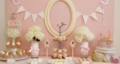 pink birdie theme
