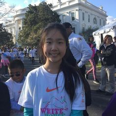 Participated in the first fun run at the #WhiteHouse on Sunday!! Wow!! #Whitehouse #funrun #letscelebrate #yay #honored by theninalu #WhiteHouse #USA