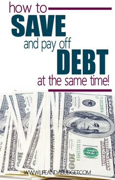 Do you have debt and no savings? Well, this 6 step plan will help you pay off debt and save money at the same time. Read for more info so you can get a handle on your finances today.