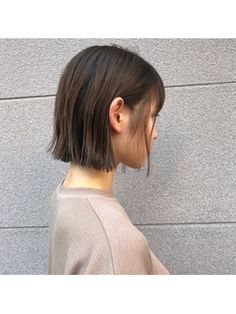Korean Short Hair, Short Hair Cuts, Short Hair Styles, Ash Hair, Cut My Hair, Bob Styles, Hair Inspo, Bob Hairstyles, Hair Trends