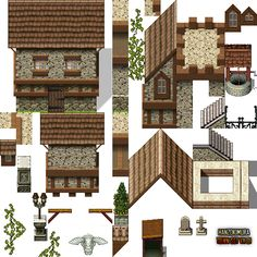 RPG Maker Community; Valkyrie Stories Tileset