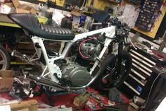 "Yamaha XS650 project ""Banzai"""