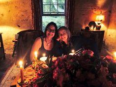 Embedded image Linda Wallem and Melissa Etheridge night before wedding