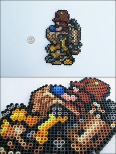 Final Fantasy 6 - Wedge - bead sprite magnet