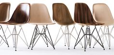 To know more about Eames Molded Wood Side Chair, visit Sumally, a social network that gathers together all the wanted things in the world! Featuring over 877 other Eames items too! Furniture Decor, Furniture Design, Eames Furniture, Masters Chair, Eames Chairs, Wood Chairs, Dinning Chairs, Office Chair Without Wheels, Home Office Chairs