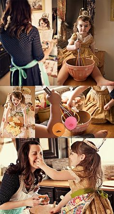 Oh, how I wish I had a photographer friend to take photos of me and the girls doing this!