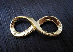 Large Artisan Handcrafted Gold Bronze by VDIJewelryFindings