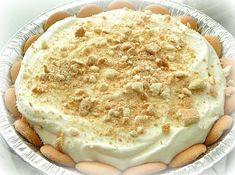The best, creamiest Lemon Icebox Pie you have ever tasted!
