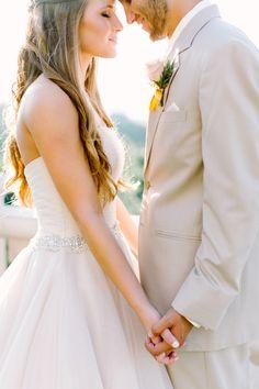 Romantic Peach, Blush & Ivory Wedding Ideas via Magnolia Rouge