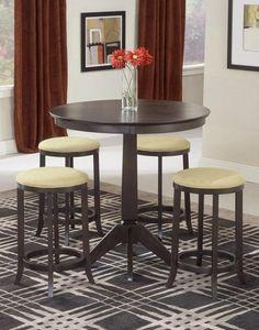 Hillsdale Tiburon 5 Piece Pub Table Set 4917-845