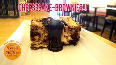 Lust auf einen Cheesecake-Brownie? Komm ins Fresh Bagels & Muffins :-)  #bagelshop #cheesecake #brownie  www.bagelshop.de