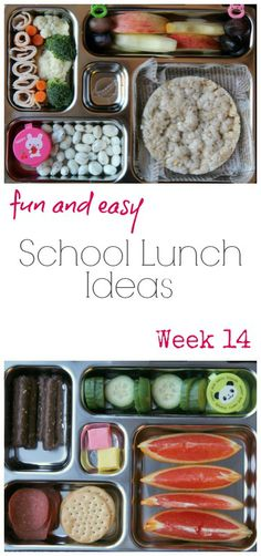 Fun School Lunchbox Ideas  from Family Fresh Meals in a PlanetBox | PlanetBox.com