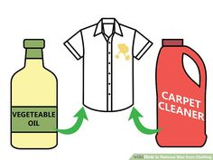 How to Remove Wax from Clothing: 8 Steps (with Pictures) - wikiHow Life Large Candles, Black Candles, Fall Candles, Remove Wax From Clothes, Wax Warmer, Paraffin Wax, Quites, Work Shirts, Candle Wax