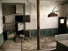 Abandoned Ellis Island: morgue