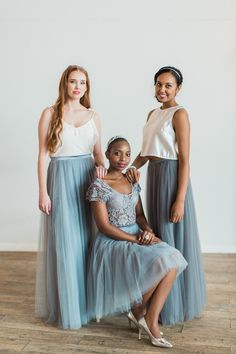 Stunning Bridesmaids Dresses and Evening Wear. Designed to be worn again & again. Lola Wilde, bringing back the charm to the bridesmaids experience. Bridesmaid Inspiration, New Romantics, Bridesmaid Dresses, Wedding Dresses, Mix N Match, Tulle, Feminine, Skirts, How To Wear