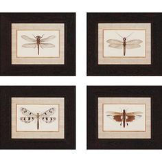 """Paragon Dancer by Chilton Traditional Art (Set of 4) - 20"""" x 17"""" - 1767"""