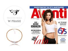 By Dziubeka w Avanti! #bydziubeka #jewerly # #fashion #style #magazine #pressroom #press