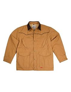 Mens Schaefer Jacket: Mens Schaefer Western Jacket. A fashion coat from the runways of New York; not hardly. The Legacy was born out on the wide expanses of New Mexico. By now, most Schaefer enthusiasts are familiar with our trademark drifter pattern. The Legacy is from the same cut with a...  More details at https://jackets-lovers.bestselleroutlets.com/mens-jackets-coats/work-wear/product-review-for-schaefer-western-jacket-mens-fenceline-canvas-legacy-drifter-245/