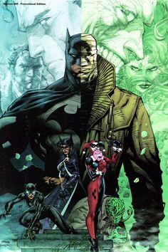 Batman #608 by Jim Lee