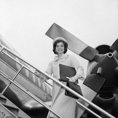 FIRST LADY JACQUELINE KENNEDY:  Jet-Setting Diplomat of 1961.