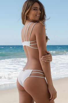 Mia Marcelle - Reina Top | White - The Girl and The Water - 2