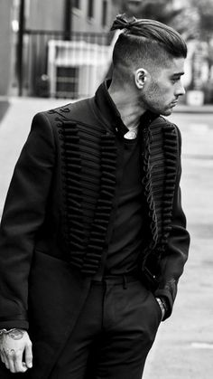 Zayn Malik Wears an Alexander McQueen Coat for The Sunday Times Style | UpscaleHype