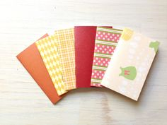 Party Favors Small Notebooks Tiny Journals Mini by ordinaryartists