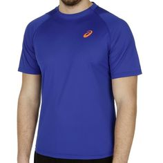 Gael Monfils Athlete Pinnacle Shortsleeve Top air force blue