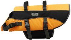 Kyjen 2518 Dog Life Jacket Quick Release Easy-Fit Adjustable Dog Life Preserver, Large, Orange - http://www.thepuppy.org/kyjen-2518-dog-life-jacket-quick-release-easy-fit-adjustable-dog-life-preserver-large-orange/