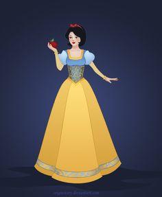 Disney - Snow White by OriginStory on deviantART