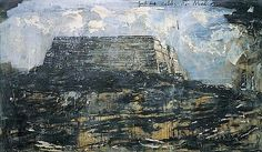 Anselm KIEFER (b. 1945)    To the Unknown Painter (Dem Unbekannten Maler), 1983    oil, emulsion, shellac, latex and straw on canvas   78¾ x 102½in. (200 x 260cm.)