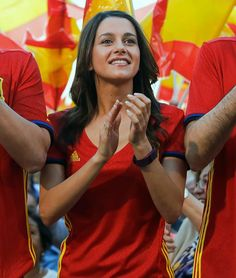 #EURO2016 Female Fans of Euro 2016 - Spain