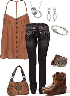 """""""Brown Montana"""" by ding1 on Polyvore"""