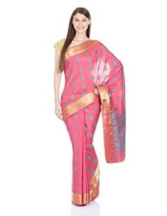 #Cotton silk With blouse piece #Machine wash #Length:6yards #Printed saree #Evening wear