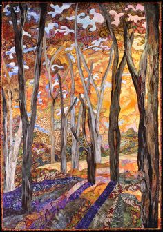 NatureQuilts.com - Charlotte Hickman - Quilt Artist