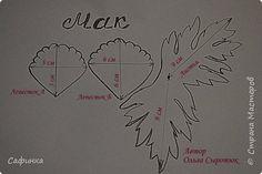Видео Мастер-класс Флористика искусственная Моделирование конструирование Создаем Мак из Фоамирана   Фоамиран фом фото 2