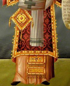 Icon Clothing, Byzantine Icons, Orthodox Christianity, Painted Clothes, Art Icon, High Art, Orthodox Icons, Tempera, Icon Design