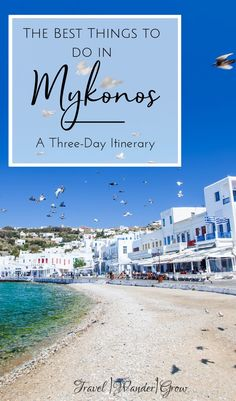 Looking for ideas for your Mykonos trip? Check out list of the best things to do in Mykonos, neatly packaged into a itinerary. Travel The Best Things to do in Mykonos Greece Vacation, Greece Travel, Vacation Spots, Greece Trip, Vacation Meme, Greece Itinerary, Greece Honeymoon, Places To Travel, Travel Destinations