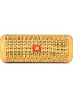 JBL Flip 3 Splashproof Portable Bluetooth Speaker (Yellow) ❤ Getting Fit