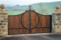 Bespoke Wrought Iron Gates Design   Custom Iron Driveway Gates