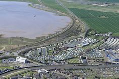 Vauxhall Holiday Park in Great Yarmouth Aerial Images   by John D F