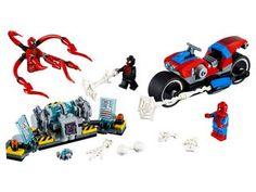 Motorbikes   Toy Cars   Official LEGO® Shop CA Miles Morales, Lego Store, Lego Mini, Boutique Lego, Modele Lego, New York City, Figurine Lego, Avengers, Santiago