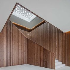 Location Avenida Vasco da Gama, Lisbon, Portugal Client EBFA (Egyptian Building Fund Authority) Scope of Services Architecture,. Timber Architecture, Architecture Details, Stairs To Heaven, Interior Stairs, Modern Buildings, Modern Interior Design, Stairways, Building A House, Building Ideas
