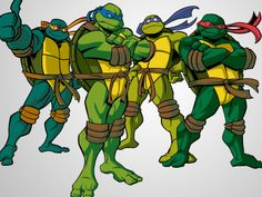 Teenage Mutant Ninja Turtles 2003- These were the glory days for TMNT.  Before all those new ones came out...