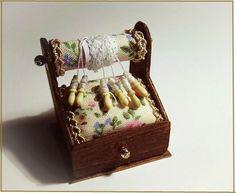 Miniature Bobin Lace by MontserratFolch on Etsy, €23.00