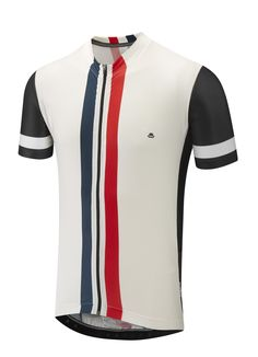 ebf25d877 Etape Jersey - White Vertical Stripe - Cycling Jerseys - Men - Chapeau!