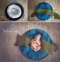 New Ideas For New Born Baby Photography : Baby photo prop Newborn photography white 1 assistant circle 3 pillows Foto Newborn, Newborn Baby Photos, Newborn Shoot, Newborn Photo Props, Newborn Pictures, Baby Boy Newborn, Baby Pictures, Newborn Posing Guide, Newborn Photography Poses