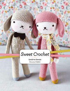 French #Crochet Designer Releases Cute English Book!: Sweet Crochet