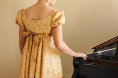 Regency Dress Reenactment Costume Emma by thetailoretteshop